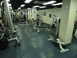 Acoustic Damping Noise Reduction Flooring For On Board Gym