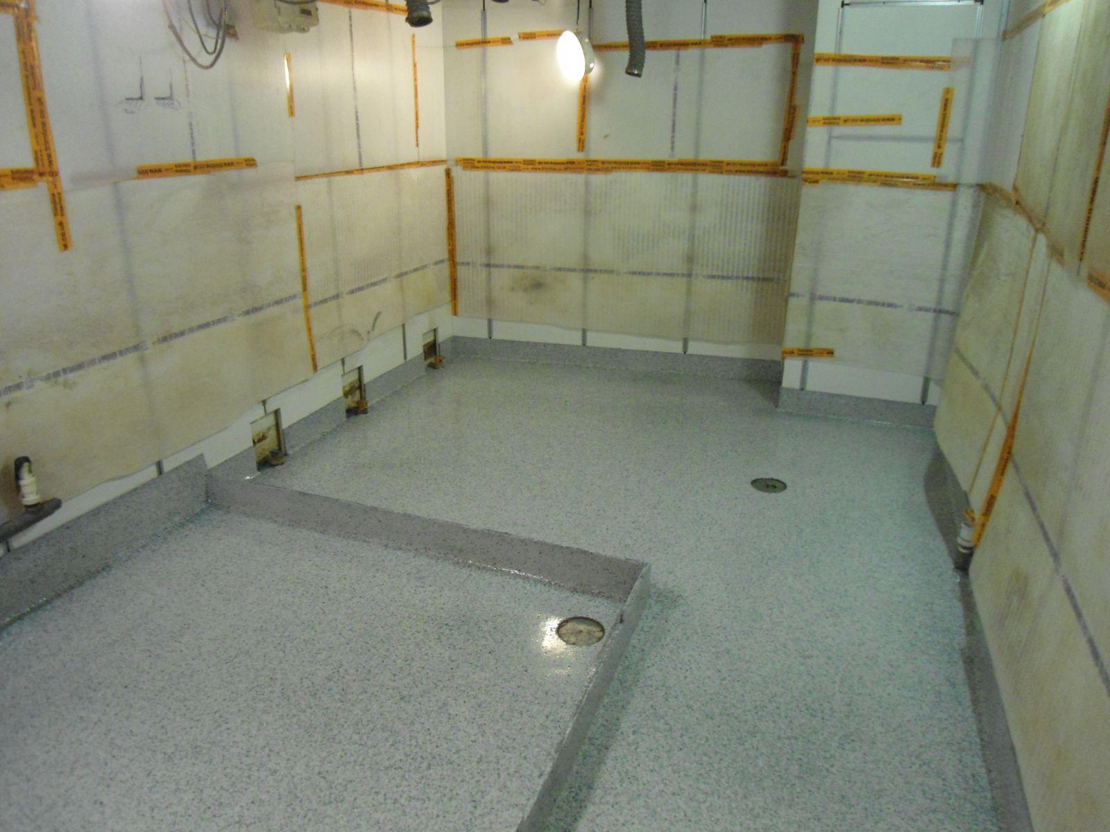 Wet Room Area